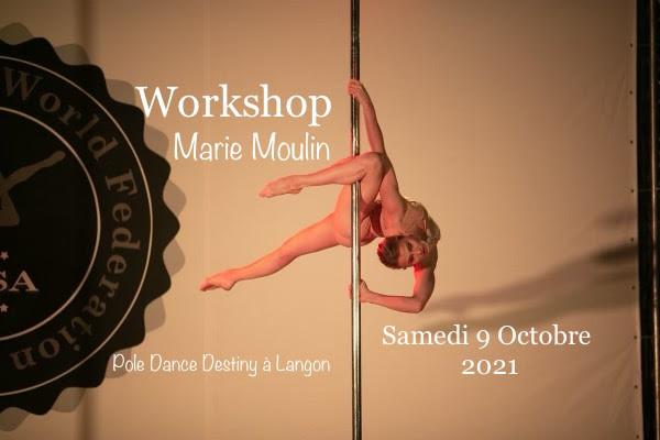 Pole Dance Destiny Workshop-Marie-Moulin